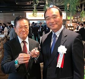株式会社極楽湯様 代表取締役社長/新川 隆丈様